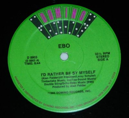 Ebo - I'd Rather Be By Myself