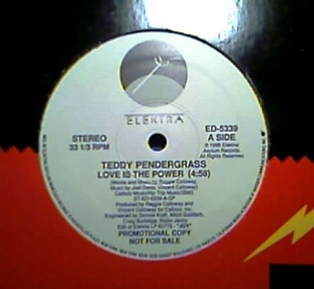 Teddy Pendergrass ‎– Love Is The Power
