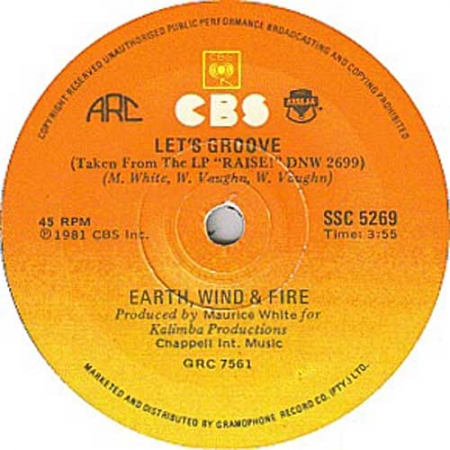 Earth Wind & Fire ?– Let's Groove