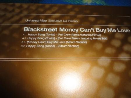 Blackstreet  -Money Can't Buy Me Love