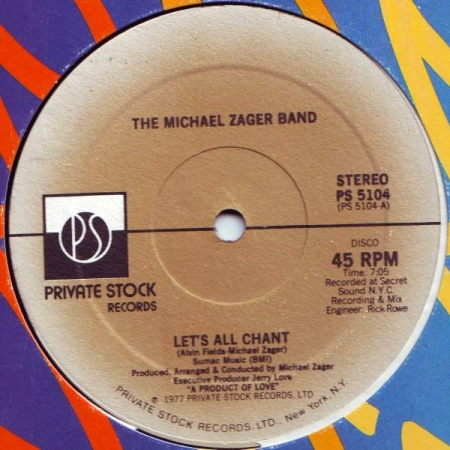 The Michael Zager Band‎– Let's All Chant / Love Express