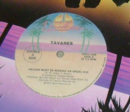 Tavares / Dan Hartman ‎– Heaven Must Be Missing An Angel / I Can Dream About You