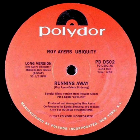 Roy Ayers Ubiquity - Running Away / Love Will Bring Us Back Together