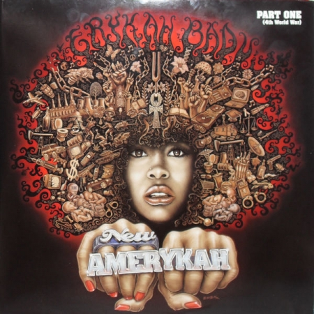 Erykah Badu ‎– New Amerykah: Part One (4th World War) LACRADO