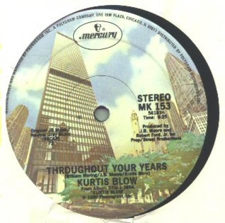 Kurtis Blow - Throughout Your Years