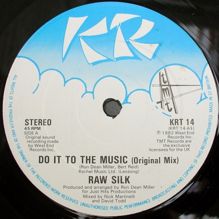 Raw Silk – Do It To The Music