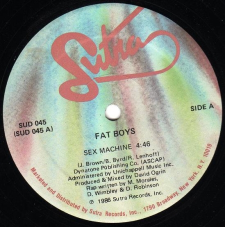 Fat Boys - Sex Machine / Beat Box Is Rocking