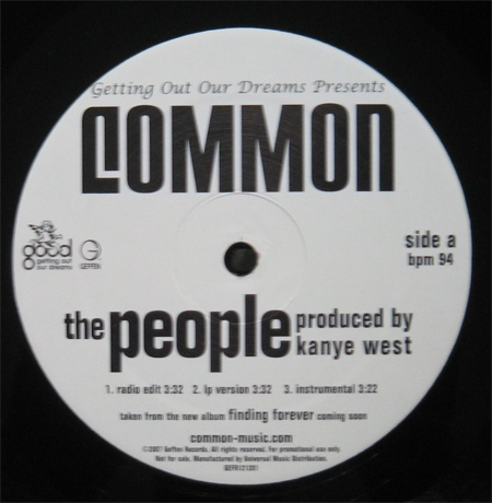 Common ‎– The People / The Game