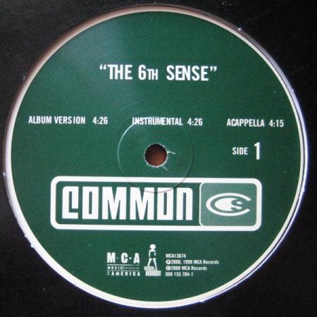 Common - The 6th Sense / Dooinit
