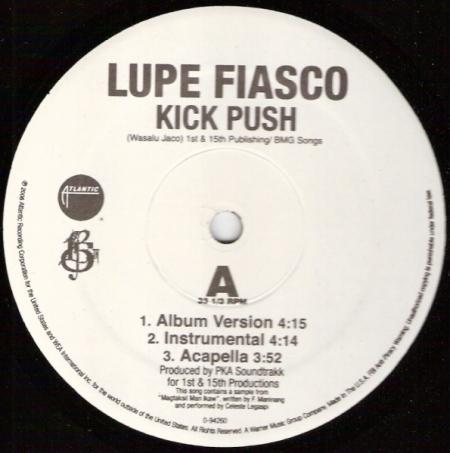 Lupe Fiasco - Kick Push / Just Might Be Okay