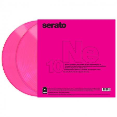 Timecode Serato Control Vinil Neon Rosa (O PAR)
