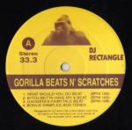 Dj Rectangle - Gorilla Beats N'Scratches