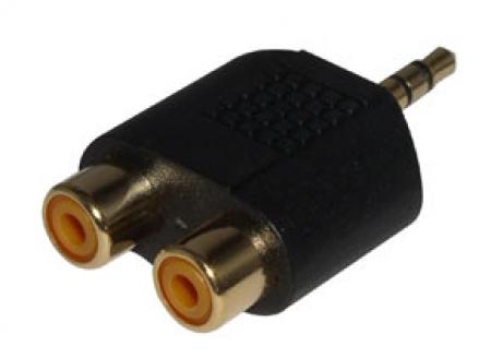 Plug P1 / RCA (Preto)