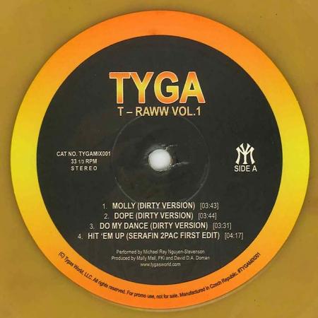 Tyga T – Raww Vol.1