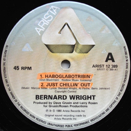 Bernard Wright - Haboglabotribin'