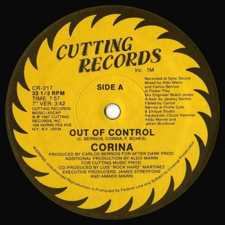 Corina - Out Of Control