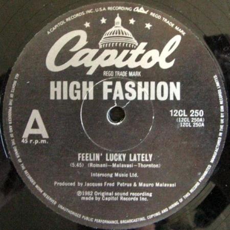 High Fashion – Feelin' Lucky Lately