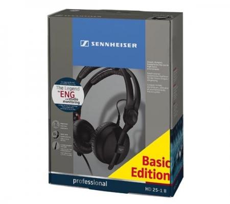 Fone Sennheiser Basic Edition HD 25-1 II ( Preto)