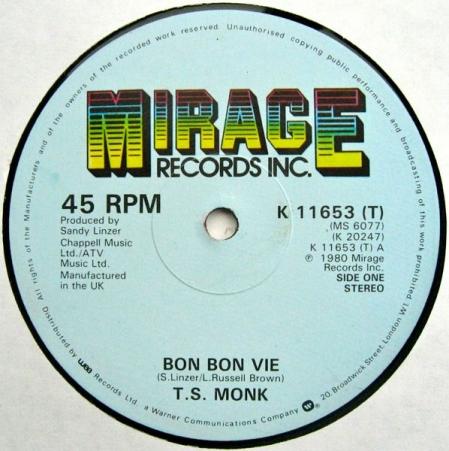 T.S. Monk – Bon Bon Vie