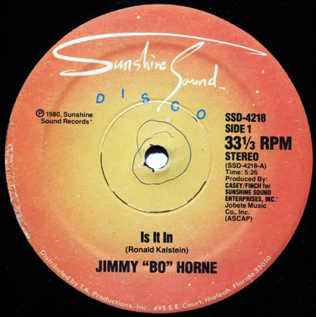 Jimmy Bo Horne - Is It In / I Wanna Go Home With You