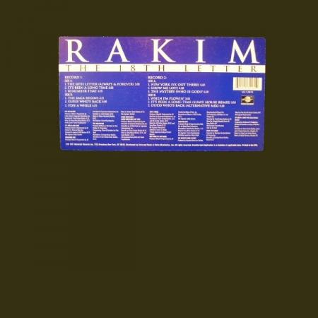 Rakim – The 18th Letter