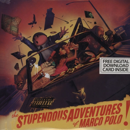 Marco Polo  ‎– The Stupendous Adventures Of Marco Polo!