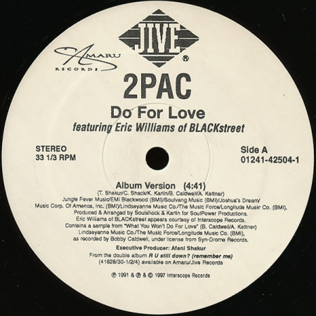 2Pac ‎– Do For Love