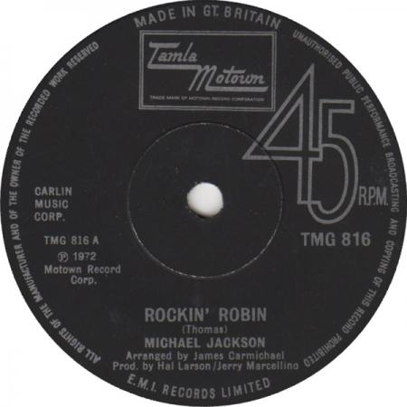 Michael Jackson – Rockin' Robin