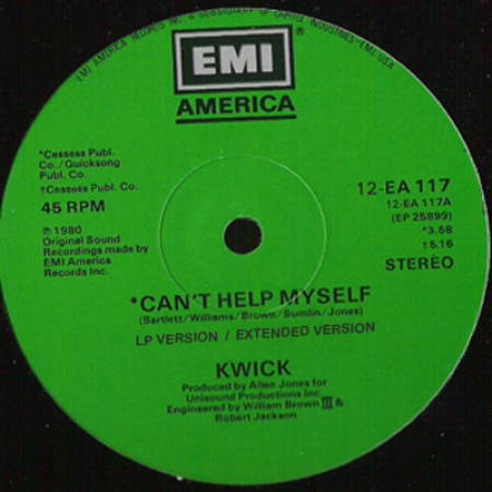 Kwick ‎– Can't Help Myself