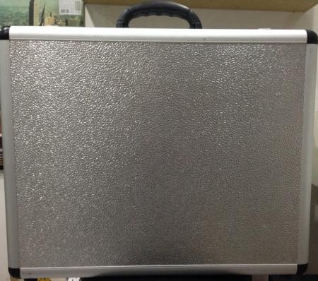 Case para Toca Disco Prata Aluminio (NOVO)