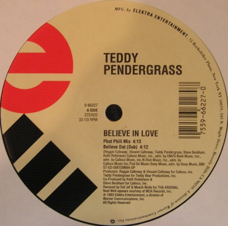 Teddy Pendergrass - Believe In Love