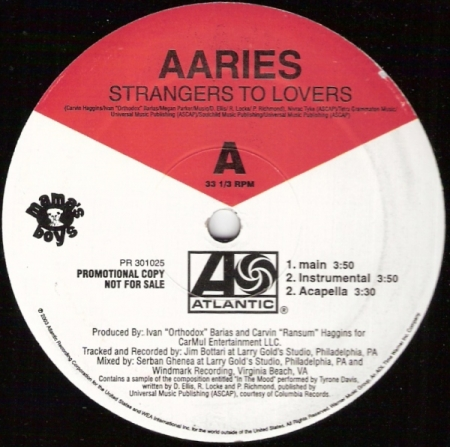 Aaries ‎– Strangers To Lovers / Eventhough