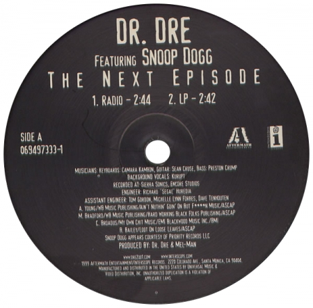 Dr. Dre - The Next Episode (feat Snoop Dogg)