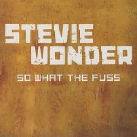Stevie Wonder ‎– So What The Fuss