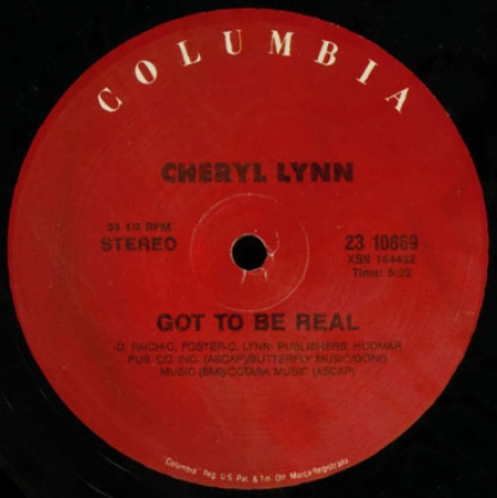 Cheryl Lynn - Got To Be Real / Star Love