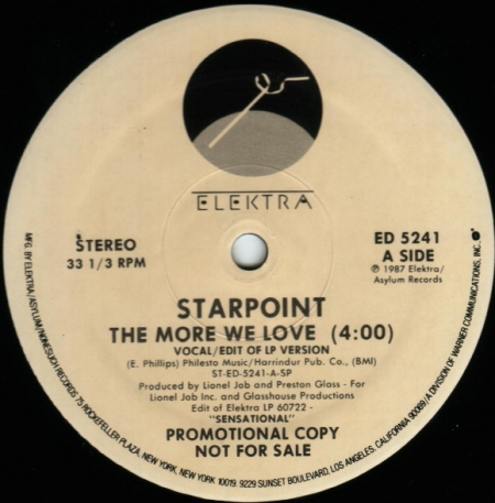 Starpoint – The More We Love