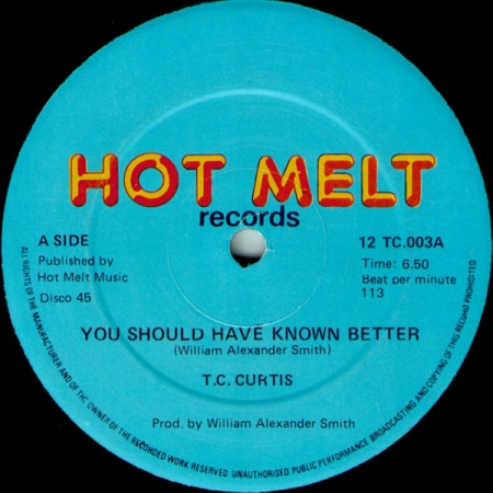 T.C. Curtis - You Should Have Known Better