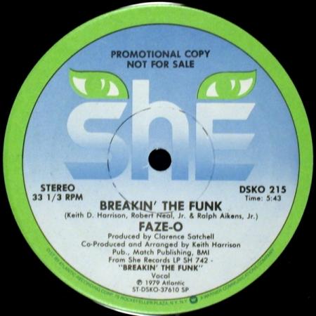 Faze-O – Breakin' The Funk