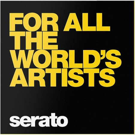 Timecode Serato Control Vinyl For All The Worlds Artists (O PAR)