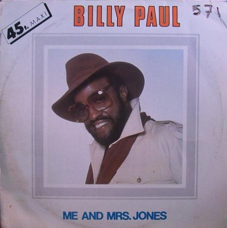 Billy Paul – Me And Mrs. Jones