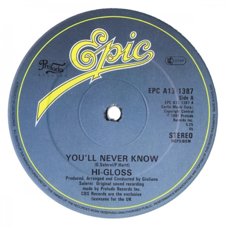 Hi-Gloss – You'll Never Know