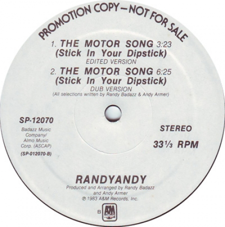 Randy Andy - The Motor Song