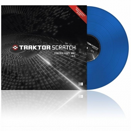 Timecode Traktor Scratch Control Vinyl MK2 Azul