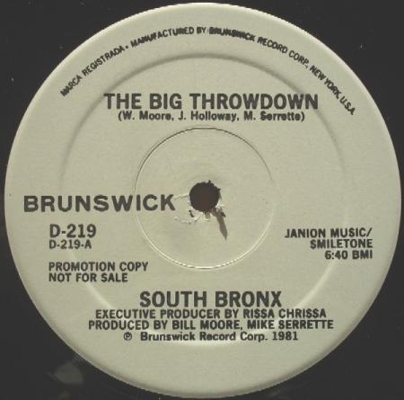South Bronx - The Big Throwdown