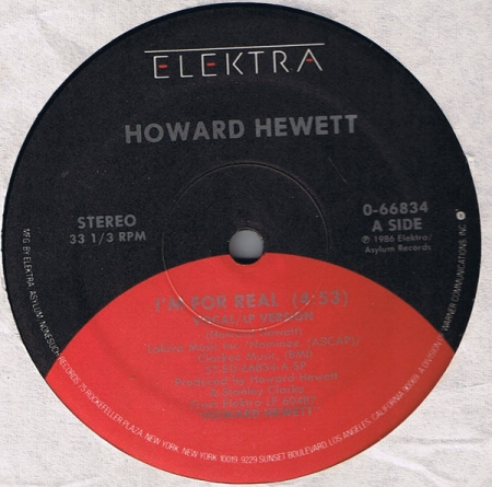 Howard Hewett - Im For Real