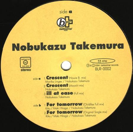 Nobukazu Takemura - Crescent EP