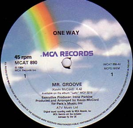One Way - Mr. Groove / Lady You Are