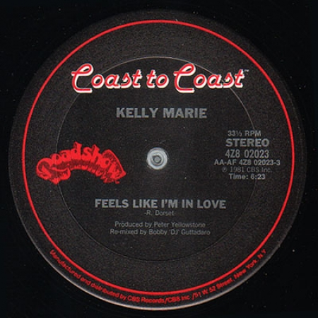 Kelly Marie ‎– Feels Like I'm In Love