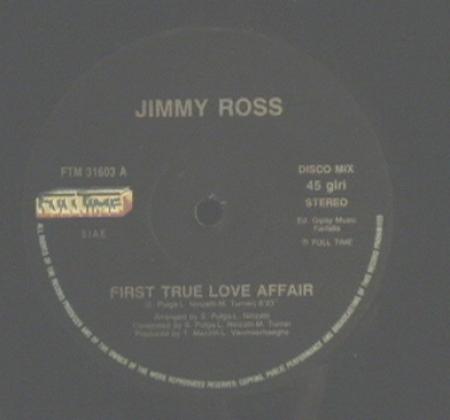 Jimmy Ross / Vin Zee - First True Love Affair / Funky Be Bop