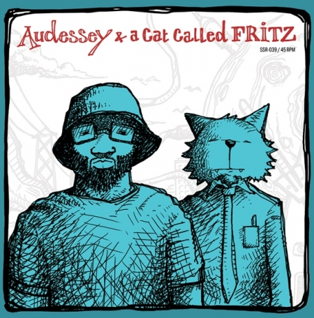 Audessey  & A Cat Called Fritz ‎– By Design / The Hop